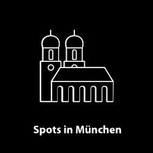 Ausgewählte Spots in München