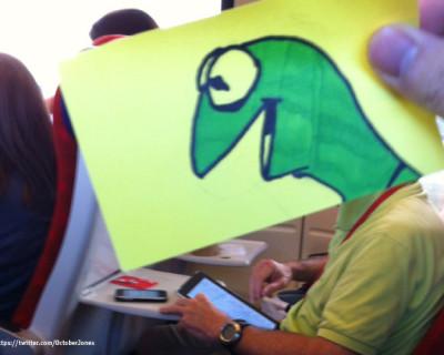 Bahnfahren mit Kermit & Co.