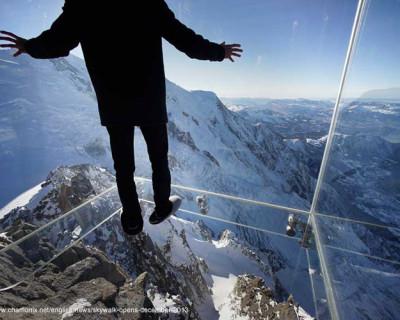 Pantoffelhelden auf 3.842 Metern