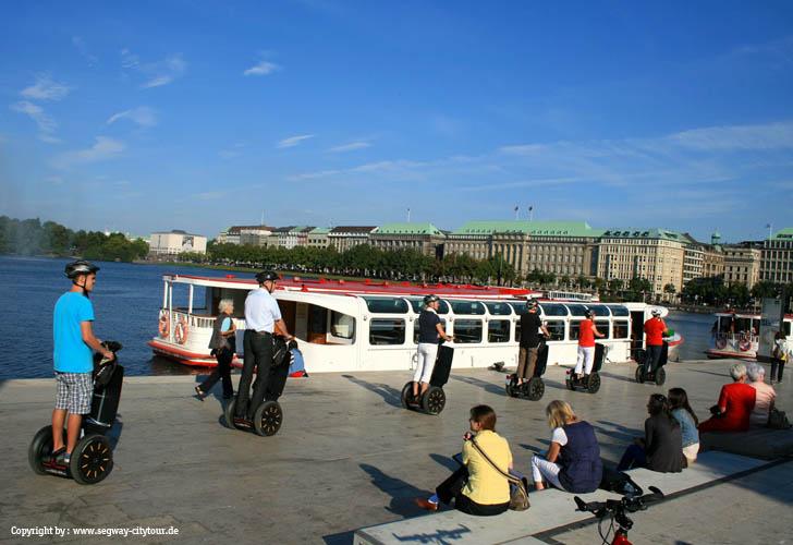 Hamburg > Segway Citytour