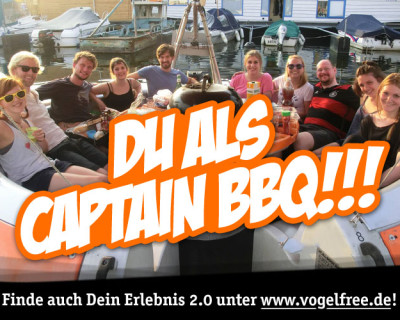 Du als Captain BBQ!