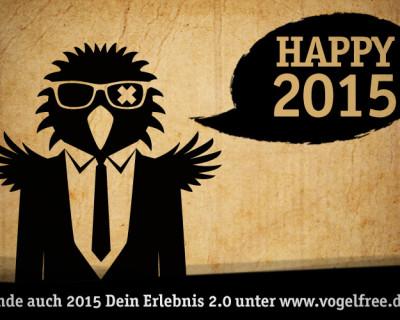 2015 wird vogelfree!