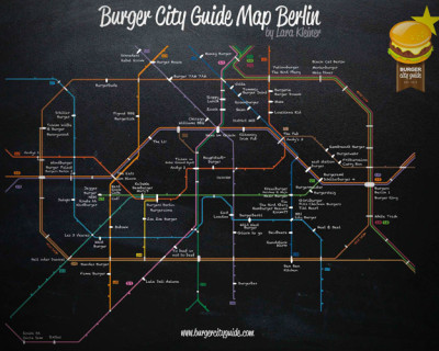 Fett! Der Burger City Guide für Berlin