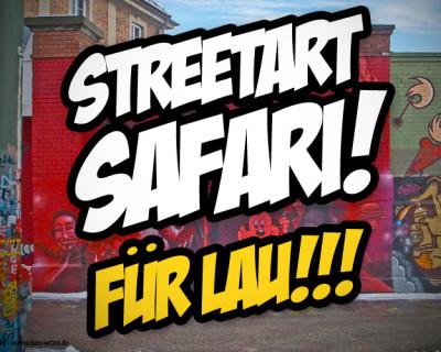Streetart Safari Gewinnspiel