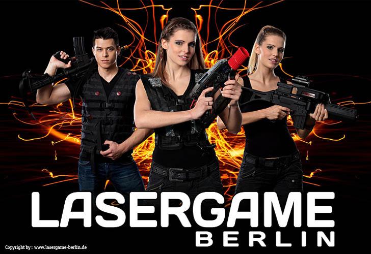Berlin > Lasergame Berlin