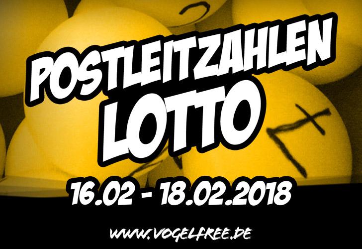 PLZ-Lotto, Ziehung die Erste!